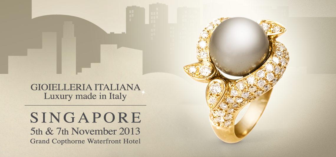 Marco Meletti Jewelry Maker at Gioielleria Italiana, Singapore